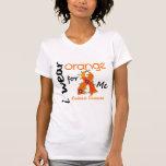 Naranja del desgaste de la leucemia I para MÍ 43 Camisetas