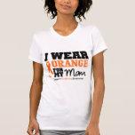 Naranja del desgaste de la leucemia I para mi mamá Camiseta