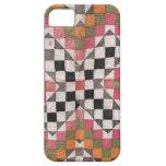 Naranja del edredón de Ralli del vintage iPhone 5 Case-Mate Carcasa