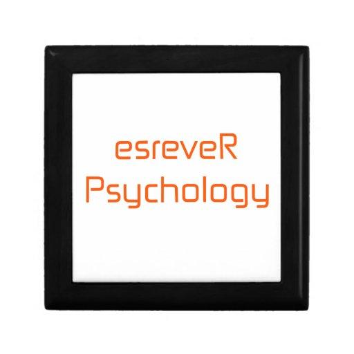 naranja del esreveRPsychology rosado Caja De Regalo