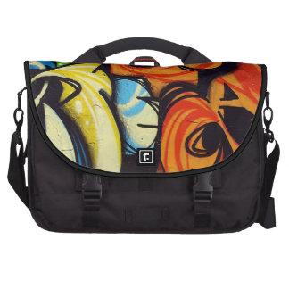 naranja del fuxart de la pintada bolsa para ordenador