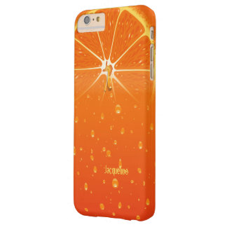 Naranja del jugo jugoso funda de iPhone 6 plus barely there