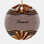 Naranja del letrero ornamente de reyes