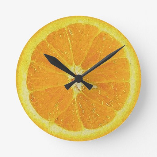 Naranja del mecanismo relojes