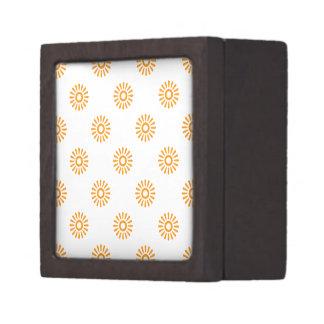 Naranja del modelo de la flor 6 caja de regalo de calidad