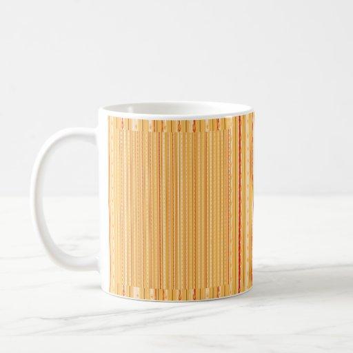 Naranja del modelo taza de café