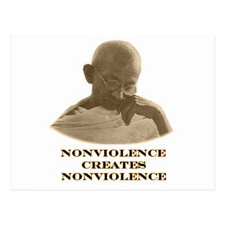 Naranja del Nonviolence los regalos de Zazzle del Postal