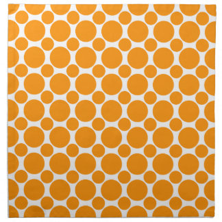 Naranja del punto 2 servilleta de papel