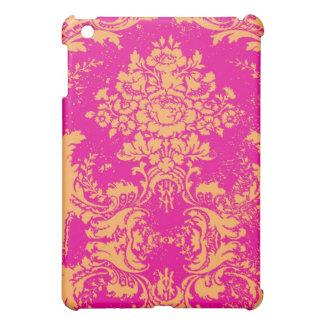 Naranja del rosa del damasco del vintage del iPad