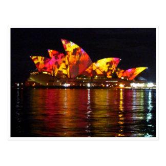 naranja del teatro de la ópera de Sydney Postal