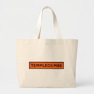 naranja del templecombe bolsa tela grande