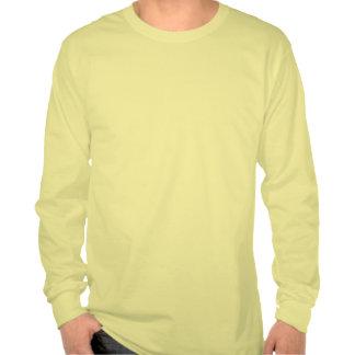 Naranja del vintage de Yosemite Camisetas