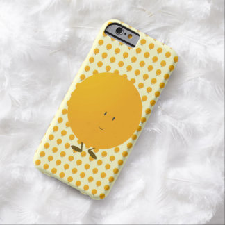 Naranja entero sonriente funda para iPhone 6 barely there