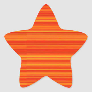 Naranja espiritual: Añada el texto del SALUDO o Pegatina En Forma De Estrella