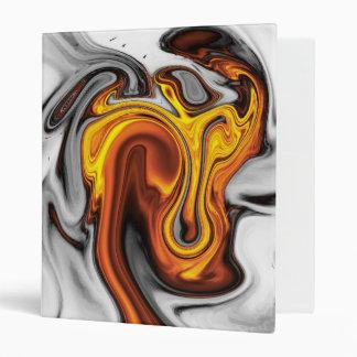 Naranja flúido del arte 09