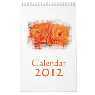 Naranja inocente calendarios