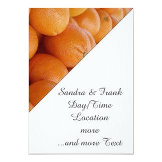 naranja invitacion personalizada