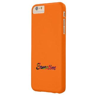 naranja lleno del caso más del iPhone 6 para Funda De iPhone 6 Plus Barely There
