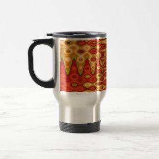 naranja maravilloso del horizonte taza de café
