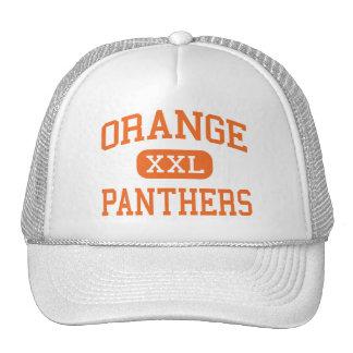 Naranja - panteras - alto - Hillsborough Gorro