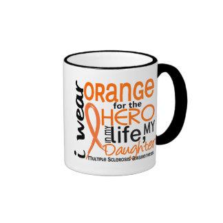 Naranja para la esclerosis múltiple del ms de la h tazas de café