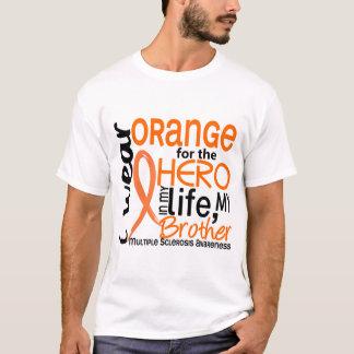 Naranja para la esclerosis múltiple del ms de playera
