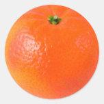 Naranja Pegatina