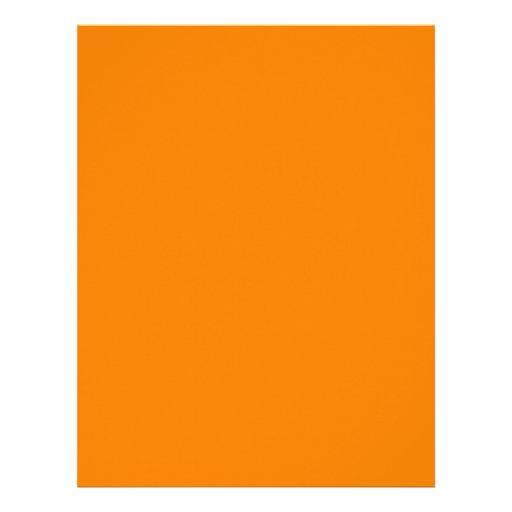 Naranja Plantilla De Membrete