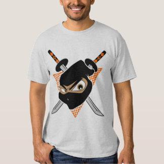 Naranja poderoso de Ninja Camisas