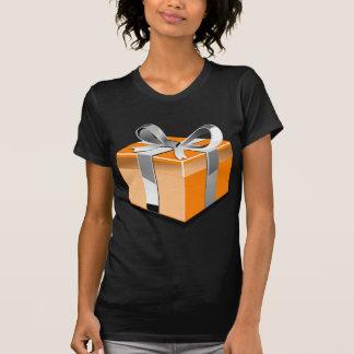 Naranja presente camiseta