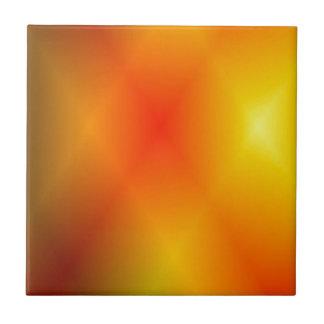 Naranja quemado brillante azulejos cerámicos