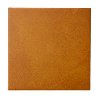 Naranja quemado texturizado azulejo cuadrado pequeño