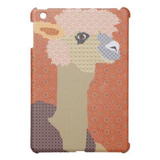 Naranja retro de la alpaca