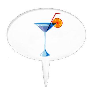 Naranja rojo de cristal azul graphic.png de la paj decoraciones para tartas