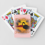 Naranja sin fin del verano baraja de cartas