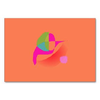 Naranja suave abstracto