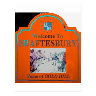 Naranja Torquise de Shaftesbury Postales