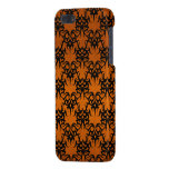 Naranja tribal 2 iPhone 5 fundas