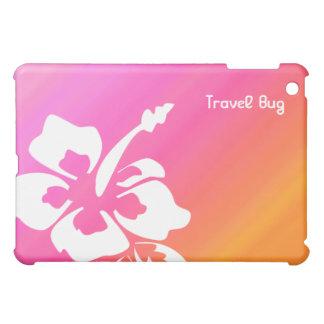 Naranja tropical del rosa del iPad del hibisco de