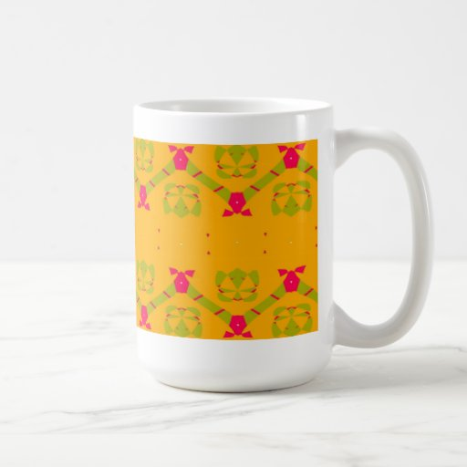 Naranja usted alegre taza