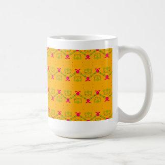 Naranja usted alegre taza de café