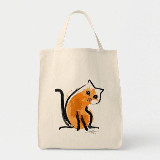 Naranja usted un gato bolsas