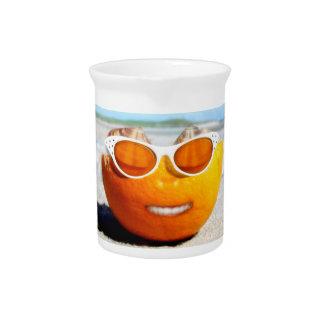 Naranja varado jarrones