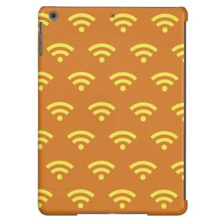 Naranja y amarillos de Wifi Funda Para iPad Air
