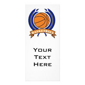 naranja y azul del emblema del laurel del balonces lona