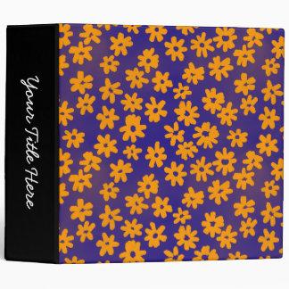 """Naranja y azul florales del estilo del batik (los carpeta 2"""""""