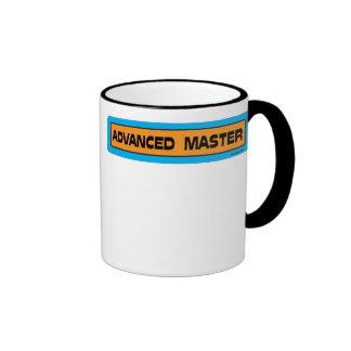 Naranja y azul principales avanzados de la taza de dos colores