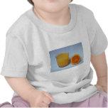 Naranja y jugo deliciosos camisetas