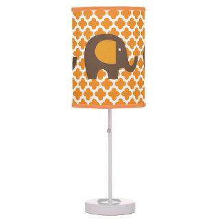 Naranja y lámpara de mesa de los elefantes de Brow
