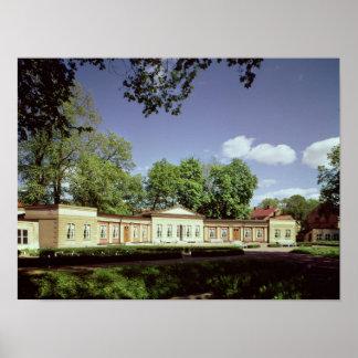 Naranjal de los jardines botánicos póster